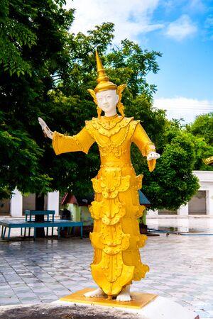 Haung Mu Do Pagoda,  Sagaing, Myanmar Stock Photo