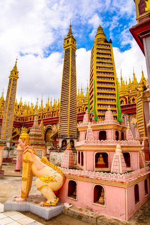Thambuddhe Pagoda Complex (Sambuddhe), one of the famous pagodas in Monywa of Sagaing Region.