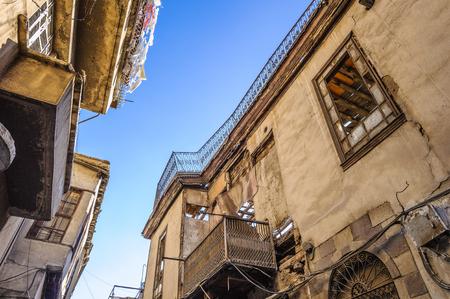 Street in Damascus, Syria Imagens