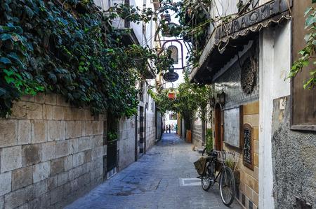 Street in Damascus, Syria Reklamní fotografie