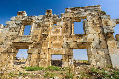 Ruins of Apamea, a treasure city of Syria.