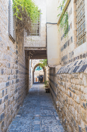 Alley in Old Hama, Syria