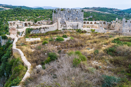 The Nimrod Fortress or Nimrods Fortress,  a medieval fortress situated in the northern Golan Heights, on a ridge rising about 800 m (2600 feet) above sea level. Syria