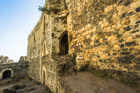 Castle in Syria Stock Photo