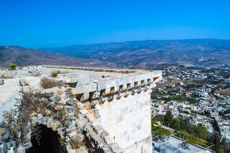 Castle on the hilltop in Syria