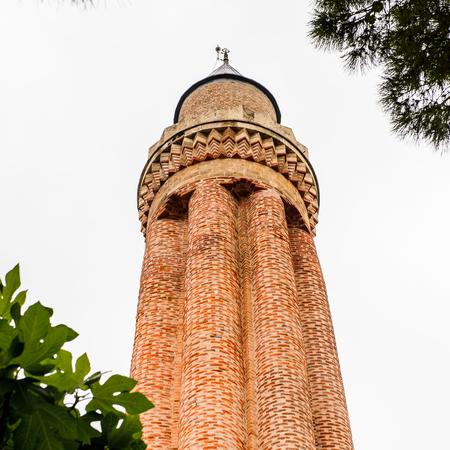 Yivli minare Mosque (Alaaddin), Fluted Minaret mosque or Ulu Mosque, a historical mosque built by the Anatolian Seljuk Sultan Alaaddin Keykubad I