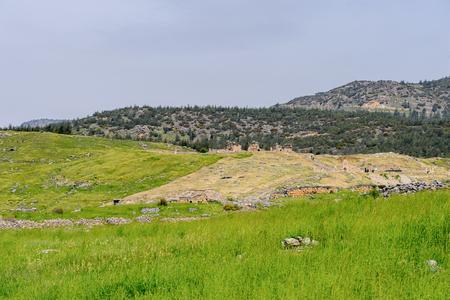 Hierapolis, Pamukkale, Turkey. Stock Photo