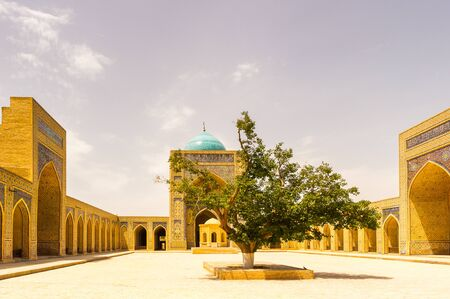 Mosque in the Historic Centre of Bukhara, UNESCO World  heritage site, Uzbekistan