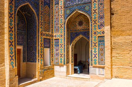 Architecture of  Samarkand, Crossroad of Culture, UNESCO World Heritage Standard-Bild