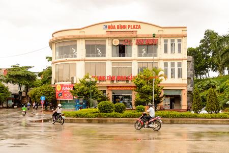 LAO CAI, VIETNAM - SEP 20, 2014: Architecture of Lao Cai, Vietnam. Lao Cai is the capital of Lao Cai province in Vietnam