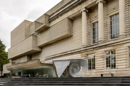 BELFAST, NI - JULY 15, 2016:  Ulster Museum, Belfast, Northern Ireland. It was established in 1929