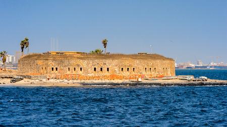 Goree Island. Former slaves island