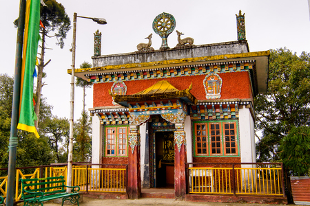 Sangchen Pemayangtse monastery, Indian state of Sikkim