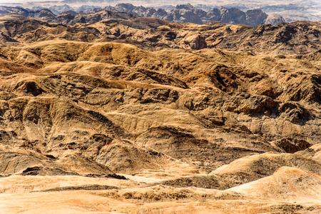 Moon landscape, Namibia desert, Africa