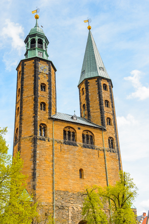 Church in Gorlar, Lower Saxony, Germany Banque d'images