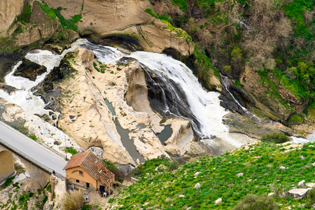 Nature of Constantine, the capital of Constantina Province, north-eastern Algeria