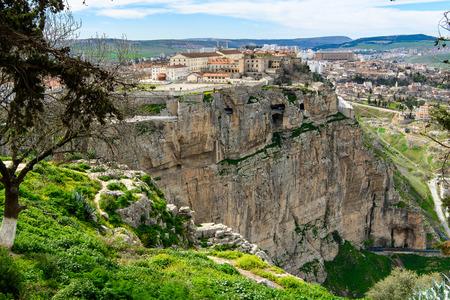 Casco antiguo de Constantina, capital de la provincia de Constantina, noreste de Argelia