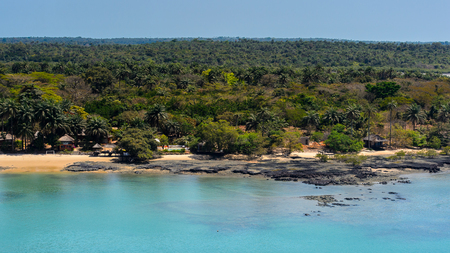 An island of the Bissagos Archipelago (Bijagos), Guinea Bissau.
