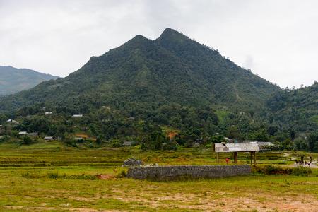 Village Ta Phin in Northern Vietnam Stock fotó