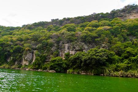 Nature of the Sumidero Canyon National Park, Chipas, Mexico. Stock Photo