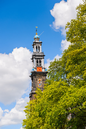 West church in Amsterdam, Netherlands