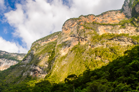 Mountains of the Sumidero Canyon National Park, Chipas, Mexico.