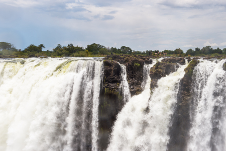 Victoria Falls, boarder of Zambia and Zimbabwe. UNESCO World Heritage