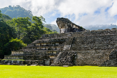 Architecture of Palenque, was a pre-Columbian Maya civilization of Mesoamerica. Known as Lakamha (Big Water).