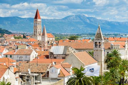 Panoramic view of Historic City of Trogir, Croatia.    Site