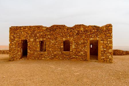 Ruins of the El Meniaa's castle, El Golea oasis, Ghardaia Province, Algeria.