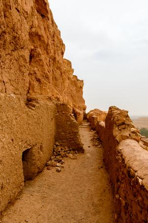 El Meniaa's castle, El Golea oasis, Ghardaia Province, Algeria.