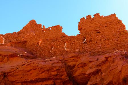 Kasr (Fortress) of Timimoun, Adrar Province,  Algeria.