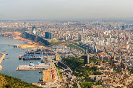 Panorama of Oran, a coastal city of Algeria Stok Fotoğraf - 108831754