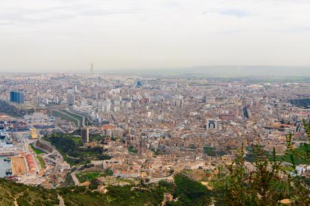 Panorama of Oran, a coastal city of Algeria Stok Fotoğraf - 108760859