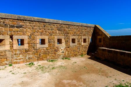 Santa Cruz fort of Oran, a coastal city of Algeria Stok Fotoğraf - 109031778