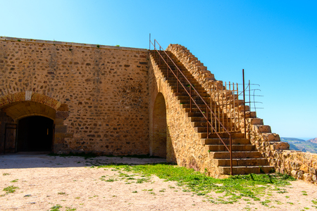 Santa Cruz fort of Oran, a coastal city of Algeria Stok Fotoğraf - 109034645