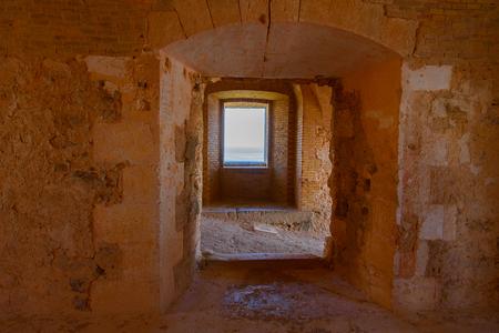 Santa Cruz fort of Oran, a coastal city of Algeria