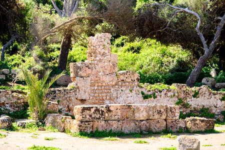 Tipasa, a colonia in Roman province Mauretania Caesariensis, nowadays Algeria.