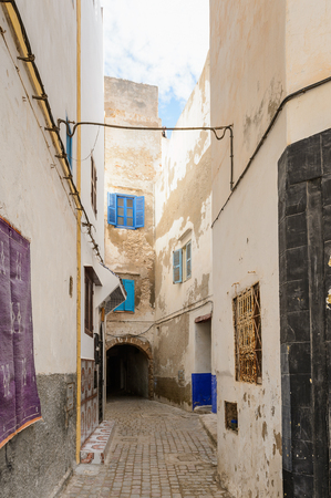 House in the town of Essaouira, Morocco