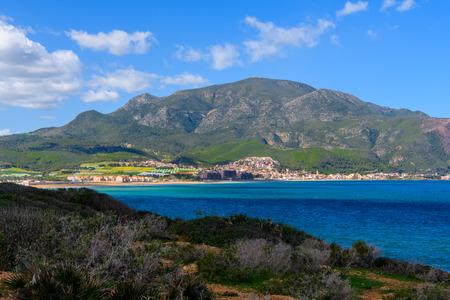 Coast of Tipasa, a colonia in Roman province Mauretania Caesariensis, nowadays Algeria.