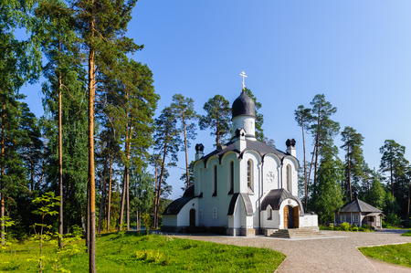 Smolensk church on the Valaam (Valamo), Republic of Karelia, Russian Federation.