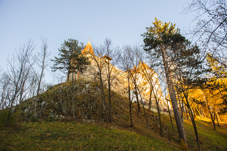 Bran Castle, Transylvania, Romania Stock Photo