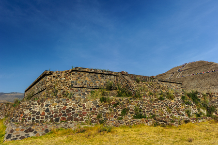 Pre-Hispanic City of Teotihuacan 版權商用圖片