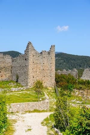 Ancient Roman architecture in Turkey 版權商用圖片
