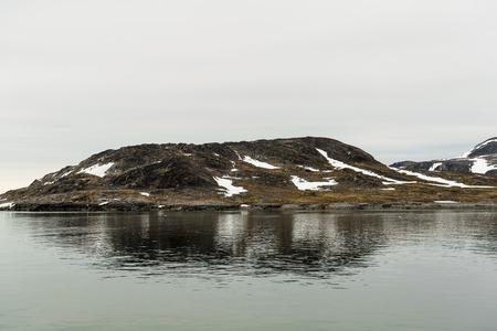 Rocks in Arctic 免版税图像