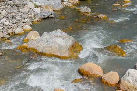 Mountain river 版權商用圖片