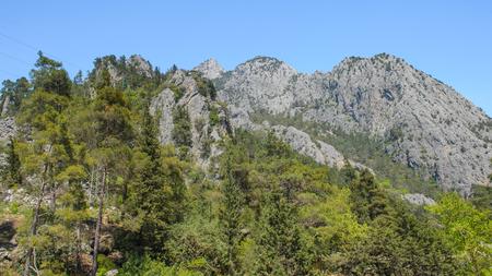 Beautiful landscape of the Taurus mountains in Turkey 版權商用圖片