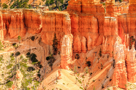 Spectacular view of the Bryce Canyon National park, Utah, USA 版權商用圖片