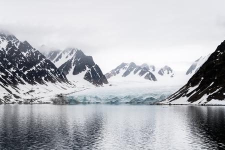Rocks in Arctic Stock fotó