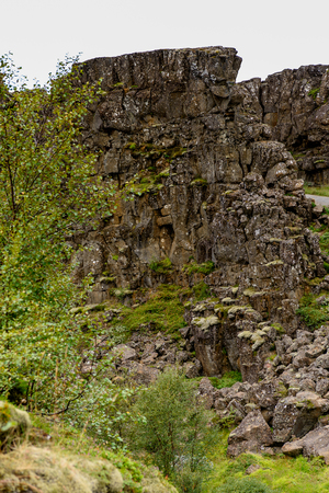 Thingvellir, a national park founded in 1930. World Heritage Site